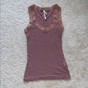 Laced tank top
